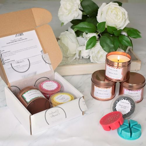 Candle and wax melt subscription box