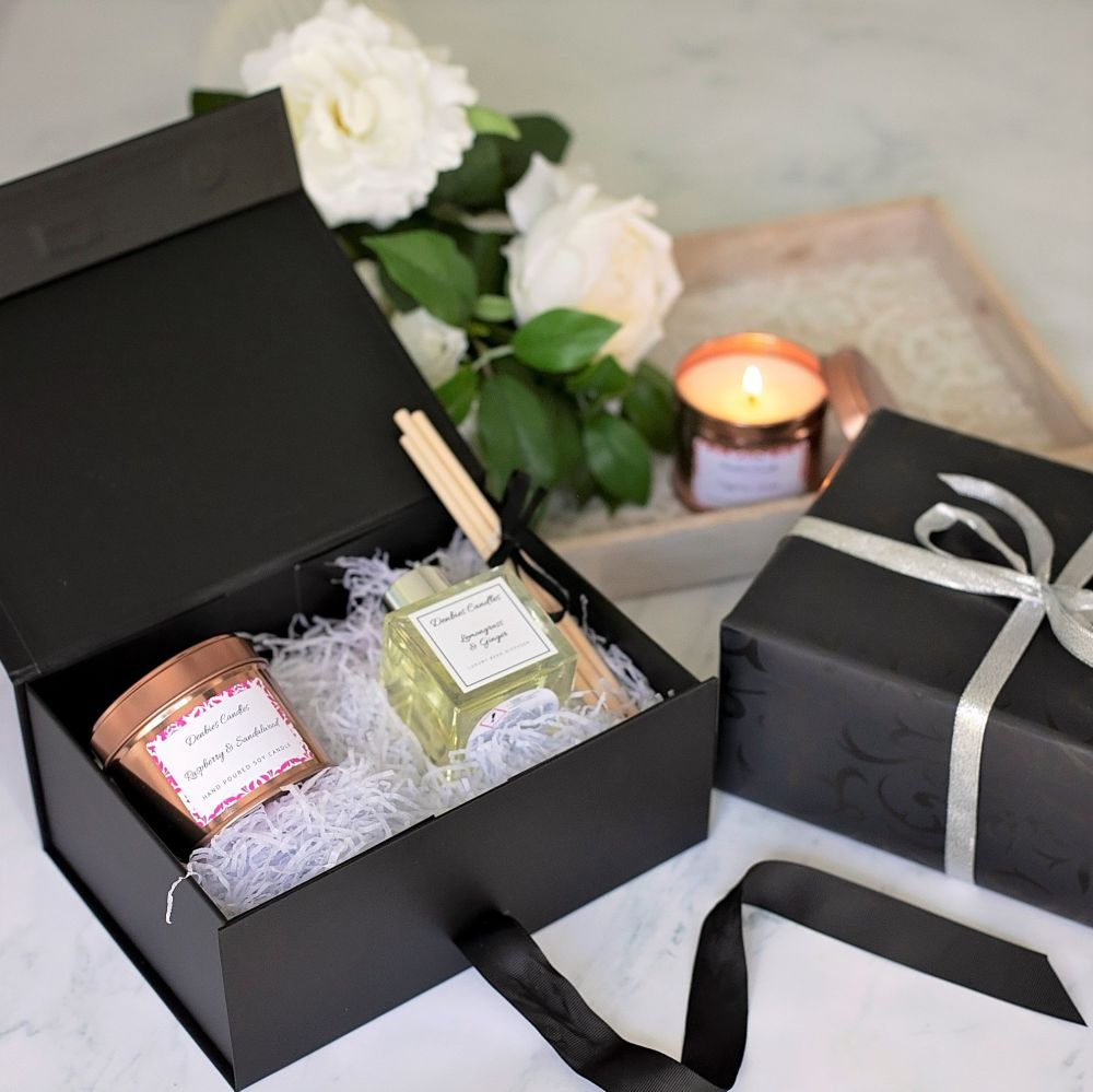 Candle tin & Reed Diffuser Gift Set