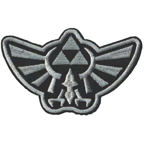 Embroidered iron on patch The Legend of Zelda Triforce.