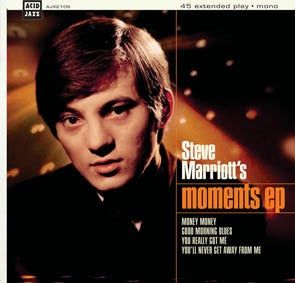 Steve Marriott and the Moments EP - AJX210S