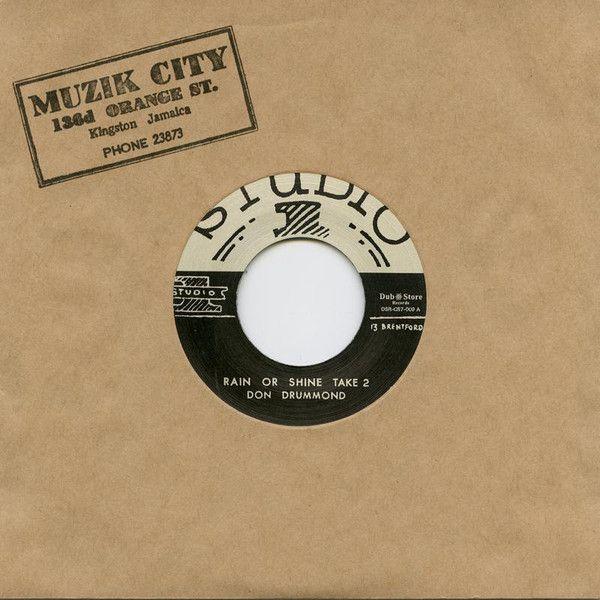 """UPSETTERS  """"POPCORN """"/ DAVE BARKER & THE UPSETTERS  """"Tight Spot""""  7"""" vinyl reissue"""