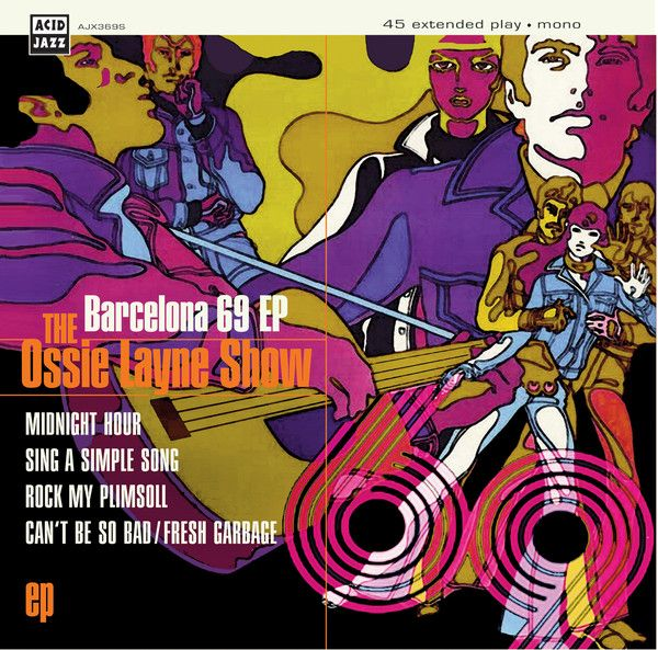 "Ossie Layne Show - Barcelona 69  EP  - 7"" vinyl"