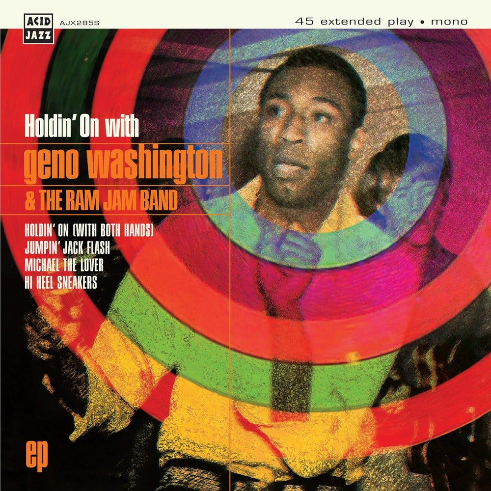Holdin' On With Geno Washington EP.