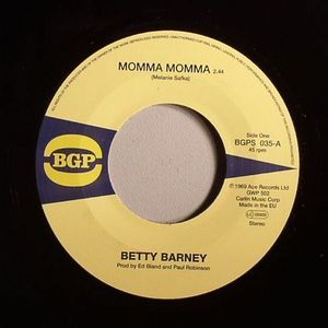 Betty Barney - Momma, Momma