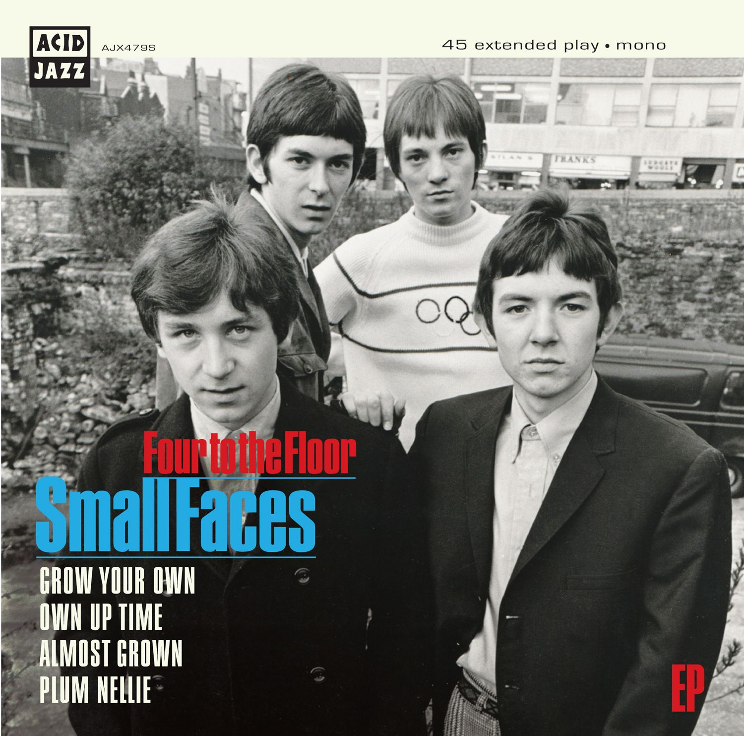 "Small face  Four to the Floor EP  - 7"" vinyl"