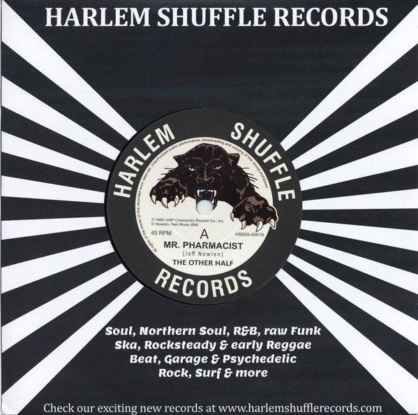 """The Other Half - Mr Pharmacist / I've Come So Far - 7"""" vinyl reissue"""