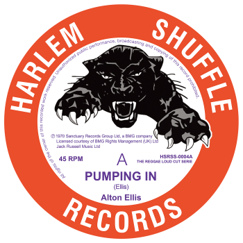 Alton Ellis - Pumping In / Knock On Wood - HSRSS-0004