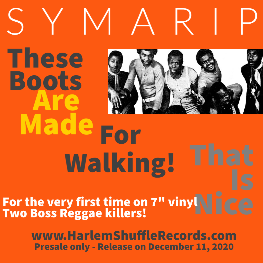 "Symarip  - These Boots Are Made For Walking 7"" vinyl"