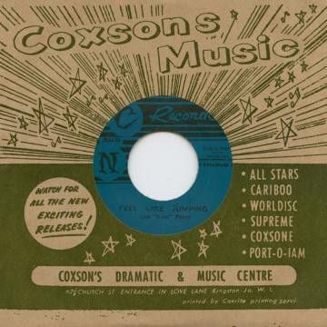 Lee Perry - Feel Like Jumping / Christine Keeler - Roland Alphonso - DSR-C