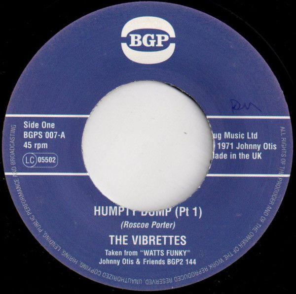 The Vibrettes - The Humpty Dump (Part 1) / (Part  2)