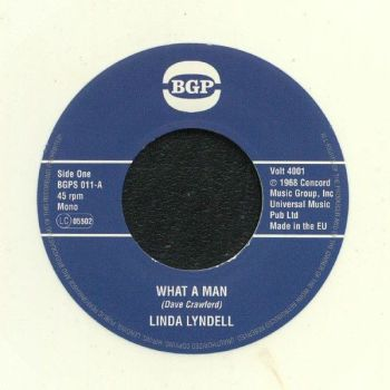 Linda Lyndell - What A Man / /Billy Hawks - O Baby (I Believe I'm Losing You)