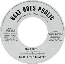 Dyke & The Blazers	- Black Boy / Let A Woman Be A Woman - Let A Man Be A Man