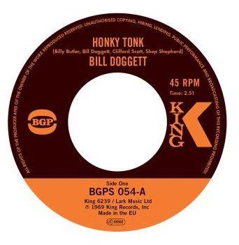 Bill Doggett - Honky Tonk / Honky Tonk Popcorn - BGPS054