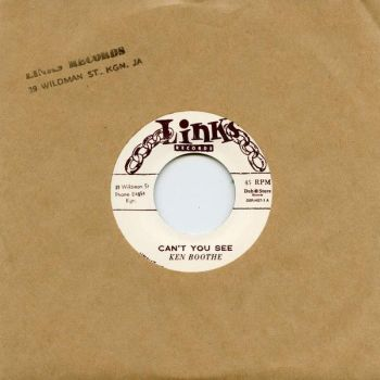 Ken Boothe - Can't You See / I Remember Someone - DSR-HS7-1