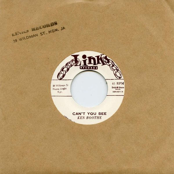 Ken Boothe - Can't You See / I Remember Someone