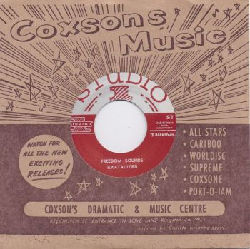 Skatalites - Freedom Sounds / Freedom Sounds (Early Take) - DSR-CS7-013