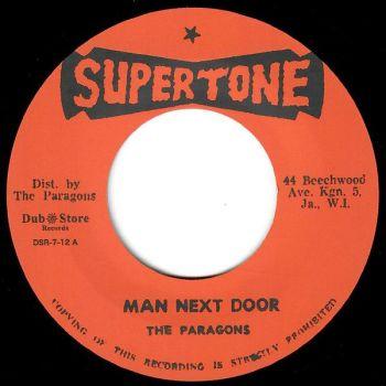 The Paragons - Man Next Door / Left With A Broken Heart - DSR-7-12