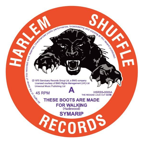 """Symarip - These Boots Are Made For Walking 7"""" vinyl  record"""