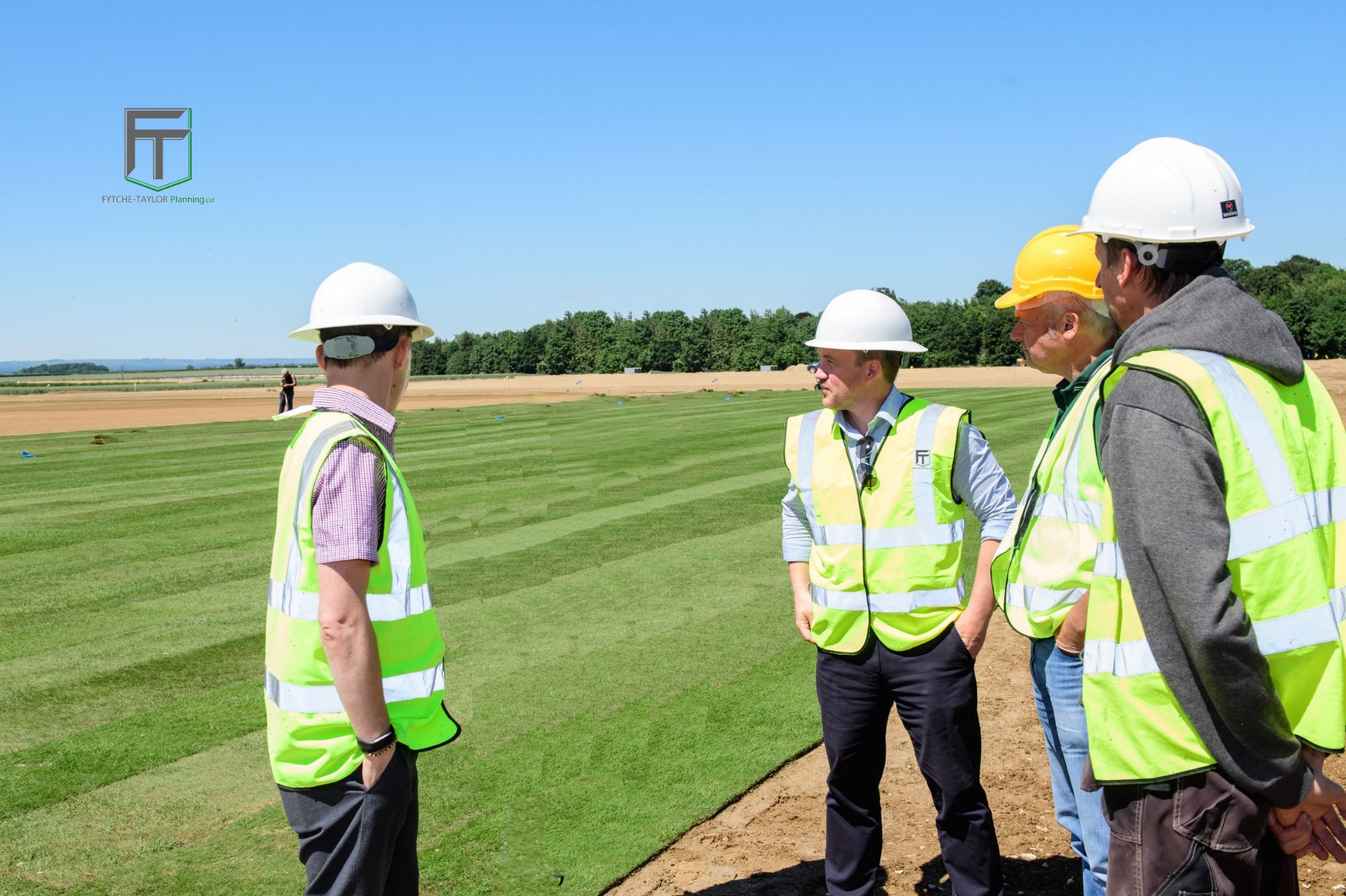 Fytche-Taylor Planning on site with Lincoln City Football Club at the new Elite Performance Centre