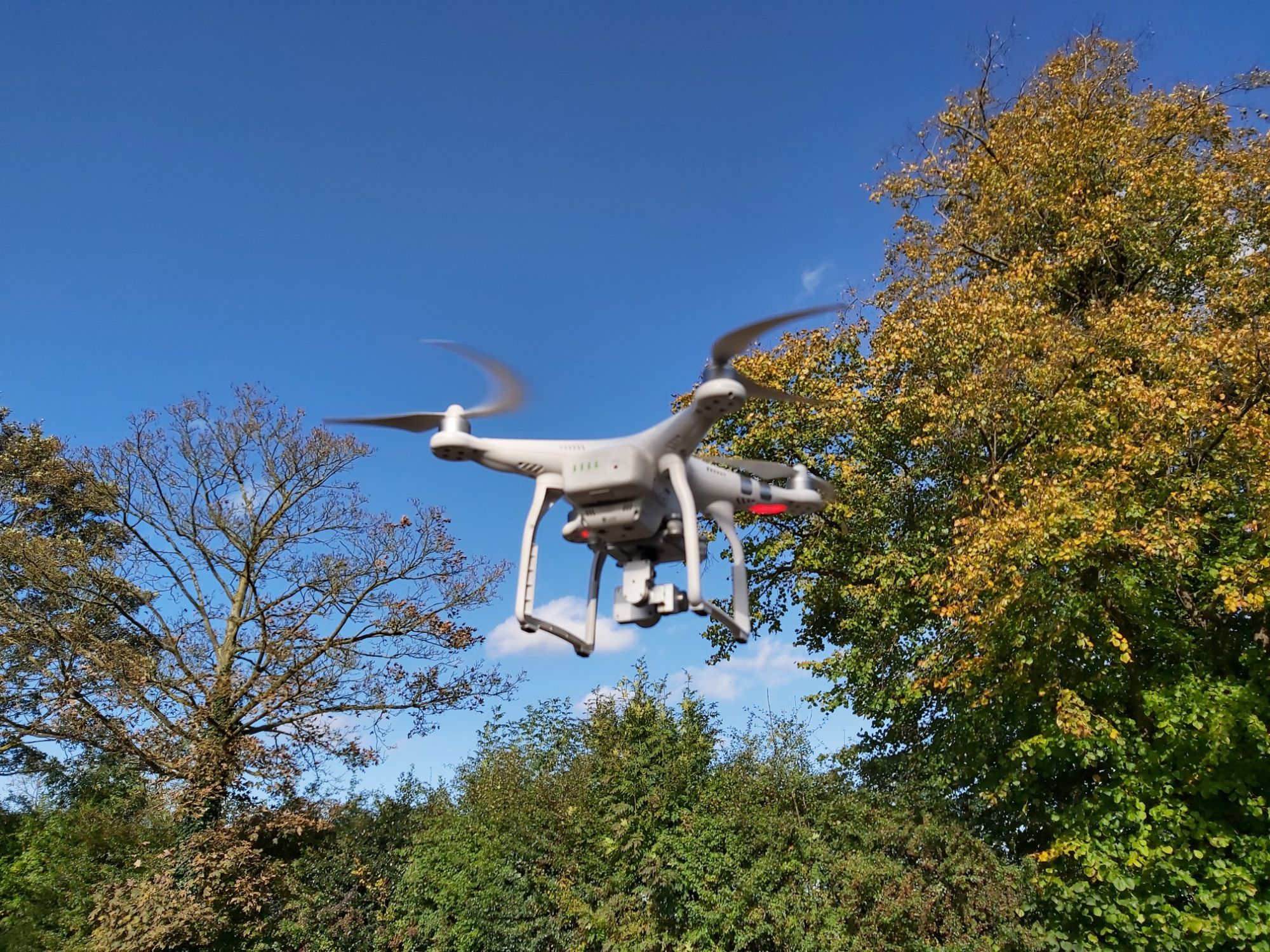 Drone to take aerial photography to support planning applications