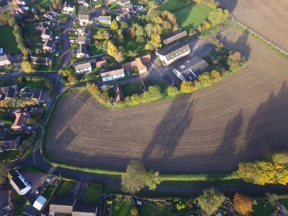 Aerial photo by our drone of potential development site