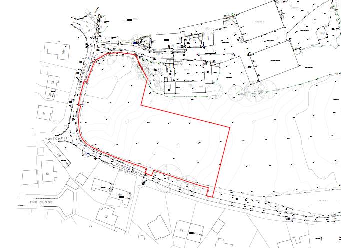 Topography survey and planning applications Lincolnshire