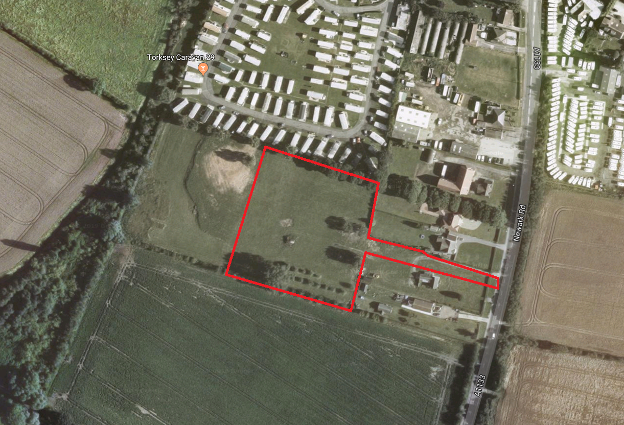 Aerial photo (existing_ development site near Lincoln