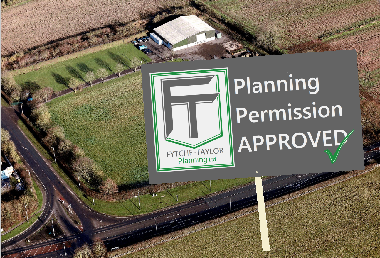 Planning permission secured for new commerial development and offices at RSM Maintenance HQ in Lincolnshire