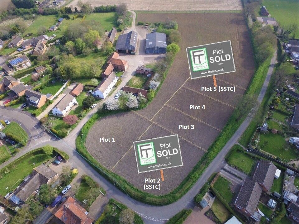 Self-build plots available and land for sale in Lincolnshire - full planning application support and consultancy services