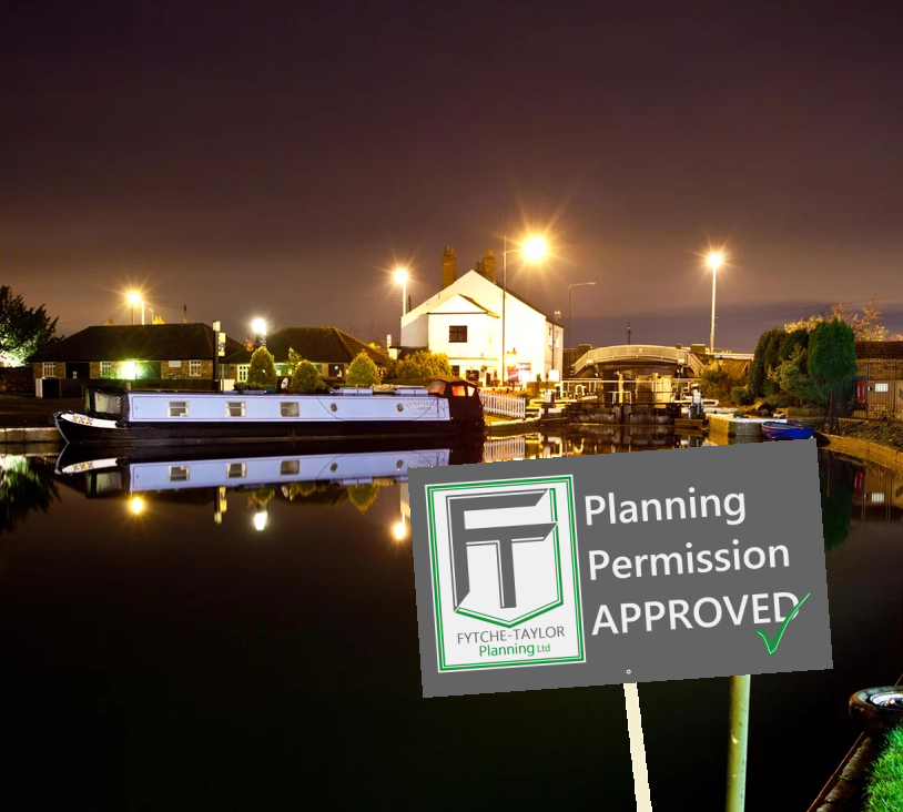 lanning permission successfully achieved for the construction of a new holiday let adjacent to the Fossdyke Navigation Canal in Torksey Lock.