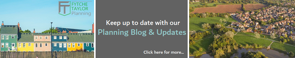 Planning Blog and latest planning applications