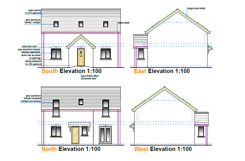 Development Plot with full planning permission in Blyton, Lincolnshire.