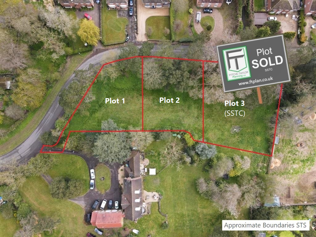 Building Land / Self Build Plots for Sale in Manby near Louth, Lincolnshire. With Outline Planning Permission, exclusive development with plots from £140,000 each