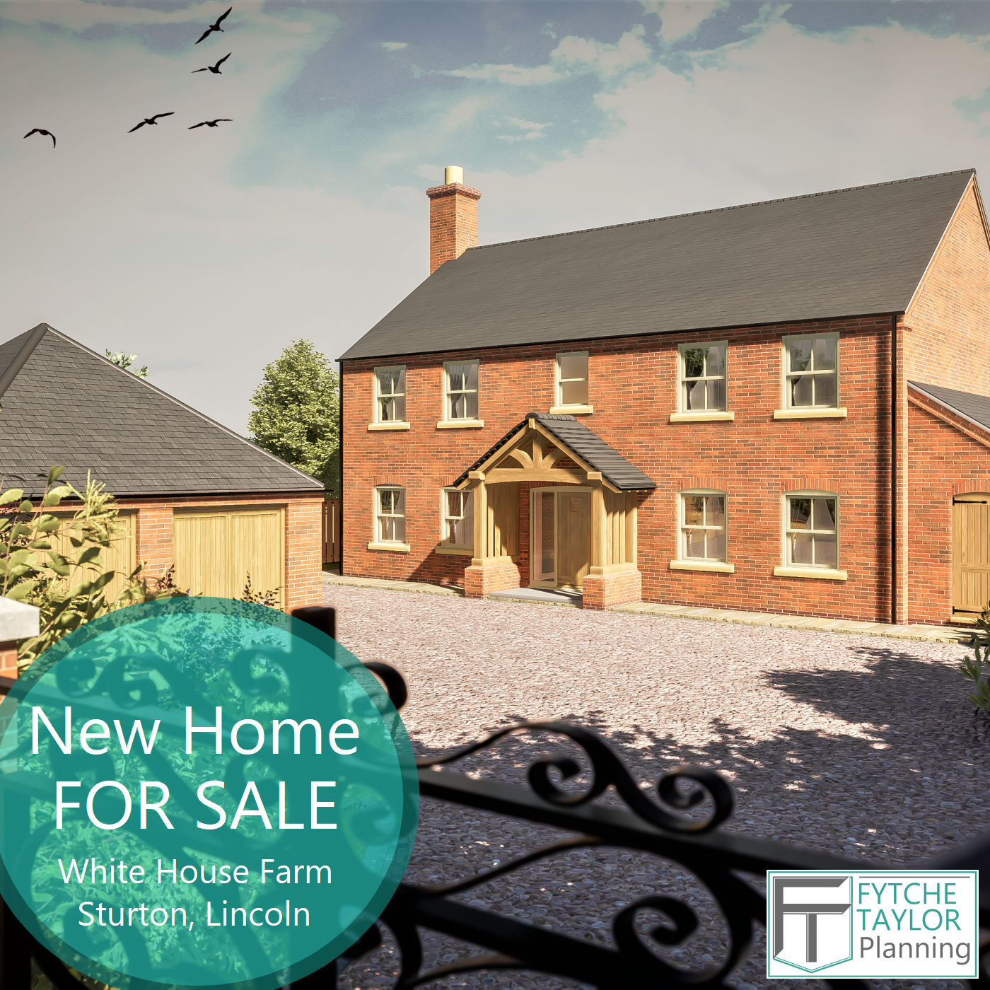 New build home for sale - a stunning bespoke character property in a unique rural location