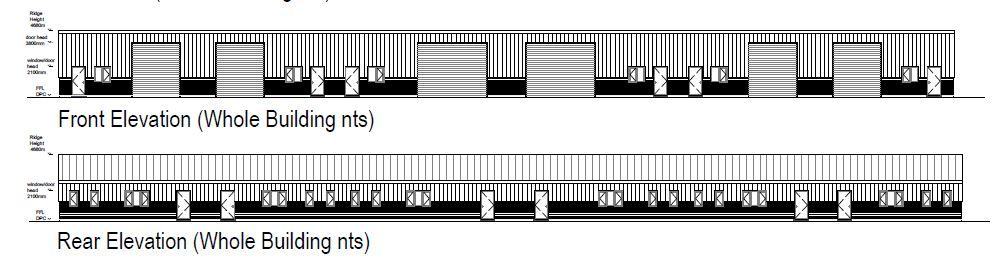 Planning Application Approved - Langworth near Lincoln. Full redevelopment and construction of 13 Rural Enterprise units
