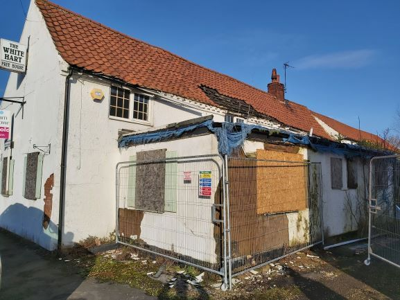 Planning permission approved for the conversion of an historic former pub into three new family homes