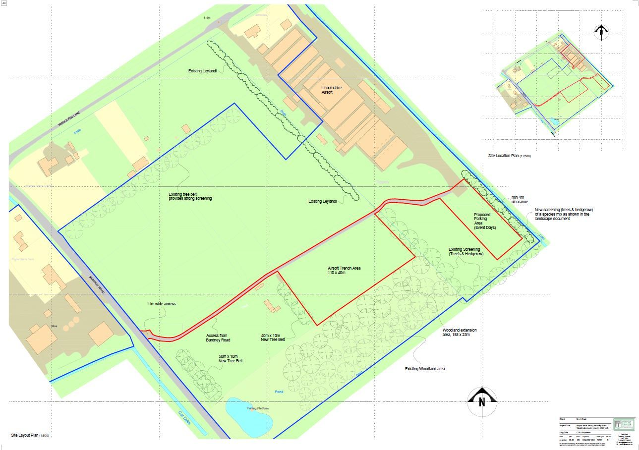 Plans submitted for unique new leisure venue