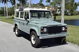 1983 to 1990 - LAND-ROVER 90 and 110