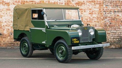 1948 to 1953 - LAND-ROVER 80