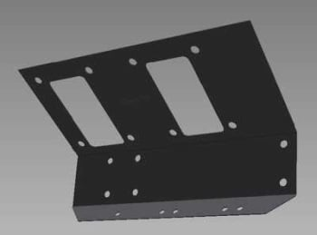 PSK 3035 - Reinforcement Plate, Pedal Boxes, 1958 to 1971