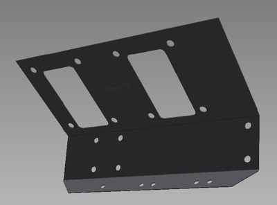 PSK 3035 - Reinforcement Plate, Pedal Boxes