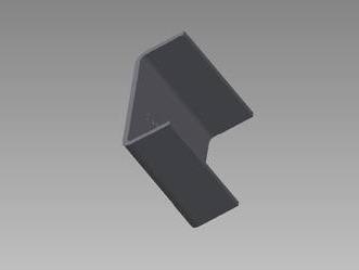 PSK 3064 - Bridge Piece, Door Hinge Captive Nut Plate, Type 1