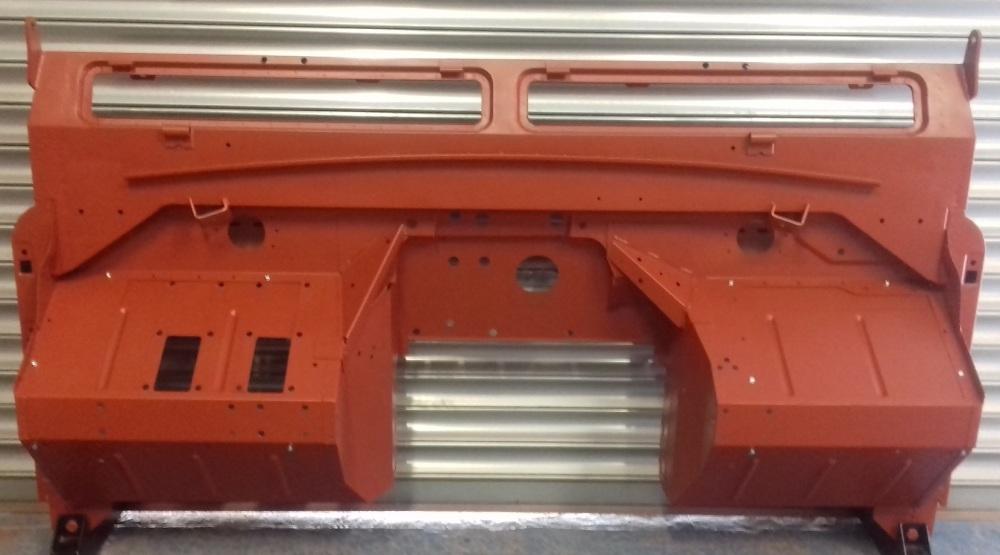 345611 (TYPE 6) RHD - Bulkhead, Series 2a, 6-cylinder, RHD models, 1967 to