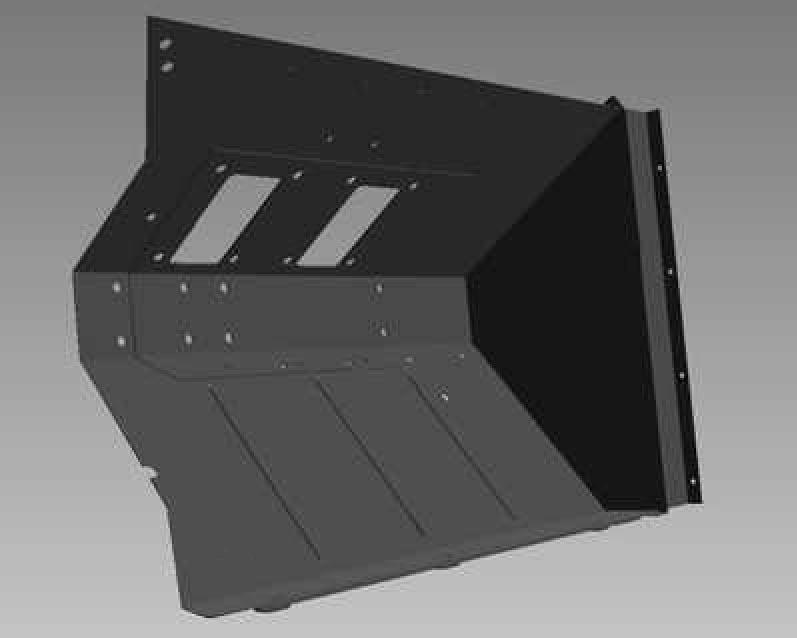 BSA 59-FW-RH - Footwell Sub-Assembly, RH Side, Type 2