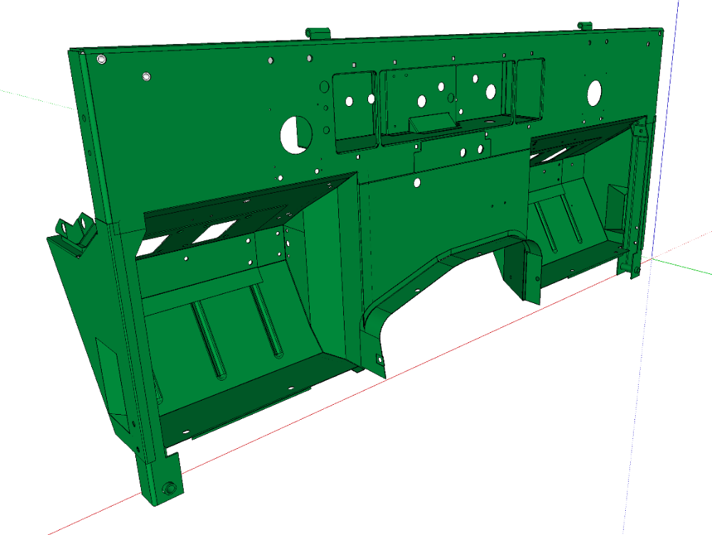 Complete Bulkhead for Series 2a & 3 Lightweight