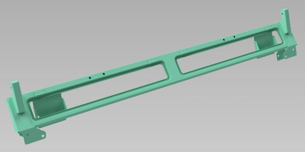 346995 - Bulkhead Upper Assembly, Early Series 3 Lightweight