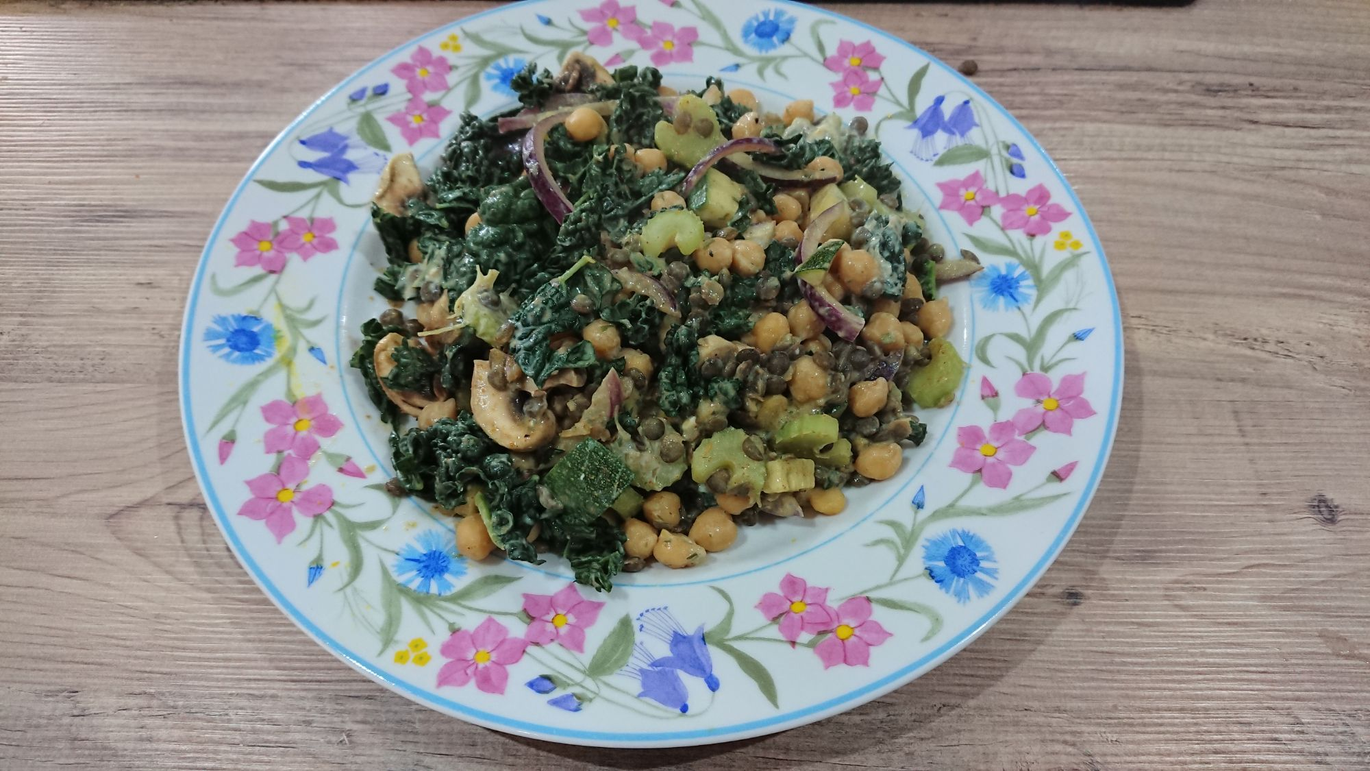 chickpea and kale