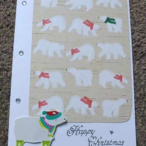 Polar Bear Happy Christmas