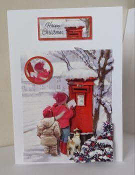 Happy Christmas Posting Santa's Letter