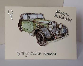Old Green Car (Grandad)